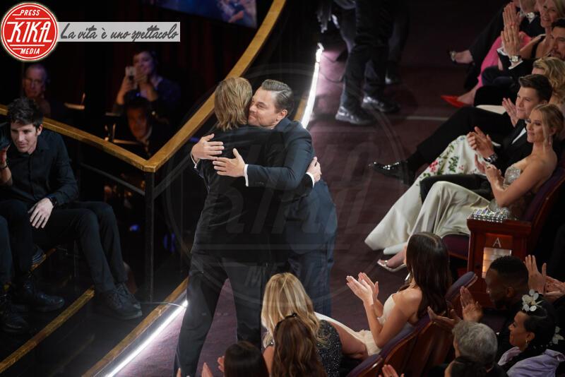 Leonardo DiCaprio, Brad Pitt - Hollywood - 09-02-2020 - Non solo Amadeus e Fiorello, quanto aiuta l'amicizia!