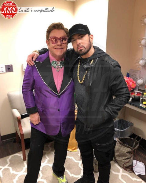 Eminem, Elton John - Los Angeles - Oscar 2020: dopo 17 anni, il riscatto di Eminem sul palco