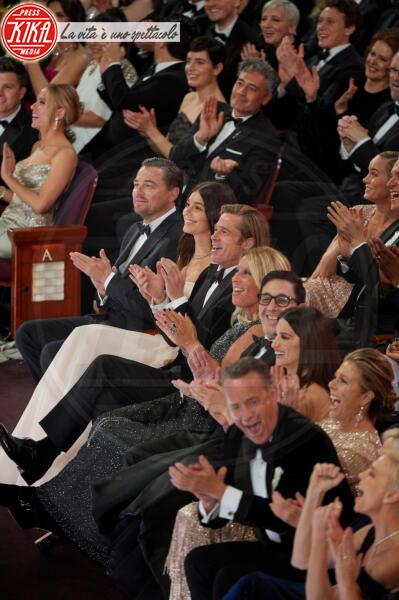 Camila Morrone, Leonardo DiCaprio, Brad Pitt - Los Angeles - 09-02-2020 - La prima volta di Camila Morrone e Leonardo DiCaprio