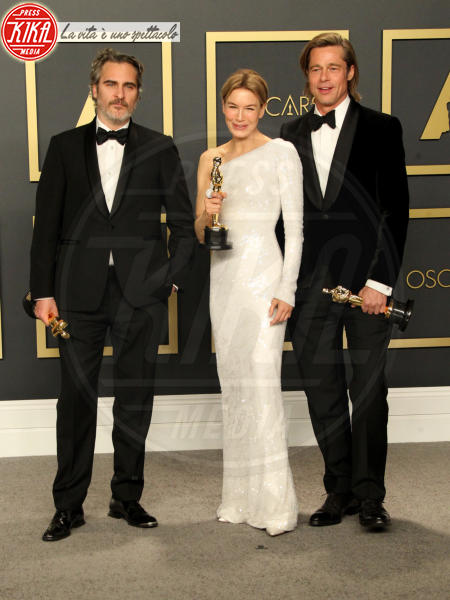 Joaquin Phoenix, Renee Zellweger, Brad Pitt - Los Angeles - 09-02-2020 - Oscar 2020: Parasite fa la storia con 4 statuette da record