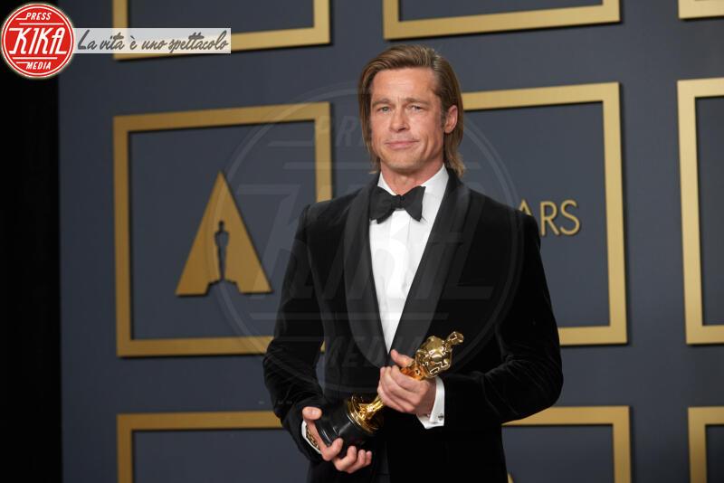 Brad Pitt - Los Angeles - 09-02-2020 - Oscar 2020: Parasite fa la storia con 4 statuette da record