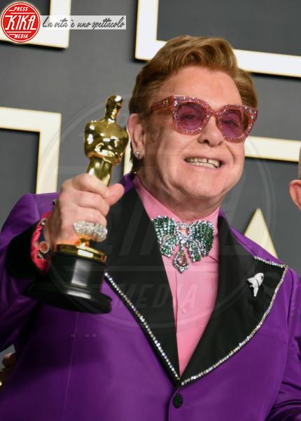 Sir Elton John - Hollywood - 09-02-2020 - Oscar 2020: Parasite fa la storia con 4 statuette da record