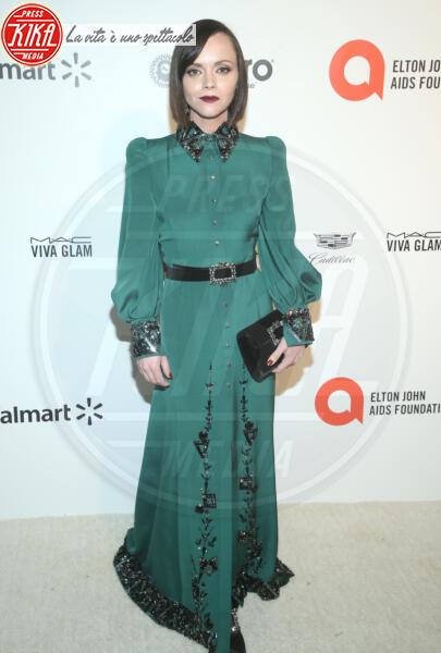 Christina Ricci - Los Angeles - 09-02-2020 - Oscar, Nina Senicar neomamma in forma al party di Elton John