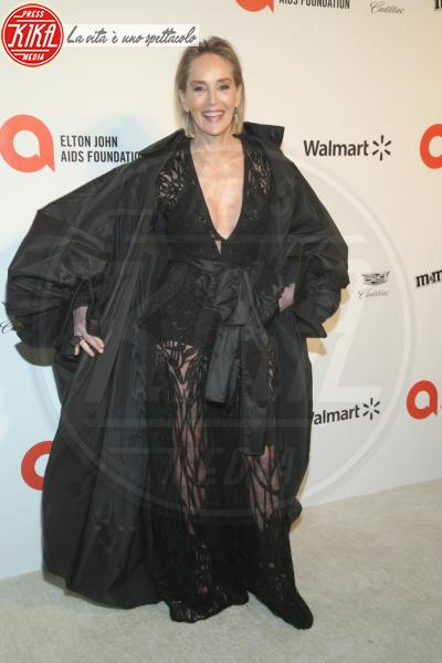 Sharon Stone - Los Angeles - 09-02-2020 - Oscar, Nina Senicar neomamma in forma al party di Elton John