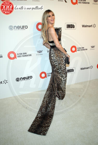 Heidi Klum - Los Angeles - 09-02-2020 - Oscar, Nina Senicar neomamma in forma al party di Elton John
