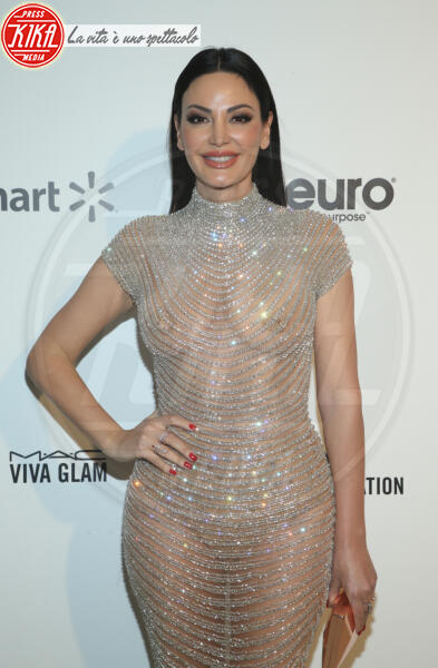 Blerona Zeqiri - Los Angeles - 09-02-2020 - Oscar, Nina Senicar neomamma in forma al party di Elton John