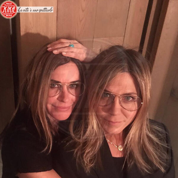 Courteney Cox, Jennifer Aniston - 12-02-2020 - Jennifer Aniston compie 51 anni,reunion con l'amica Courtney Cox