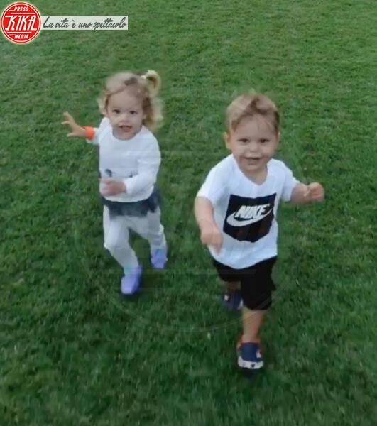 Lucy Iglesias, Nicholas Iglesias - Miami - 12-02-2020 - Enrique Iglesias e Anna Kournikova ancora genitori!