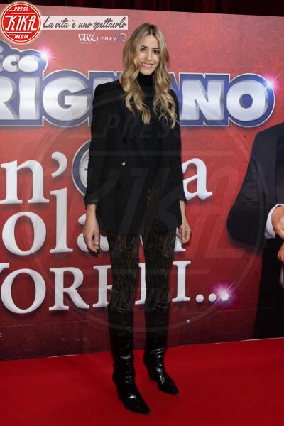 Elena Santarelli - Roma - 13-02-2020 - Elena Santarelli e Bernardo Corradi a teatro per Enrico Brignano