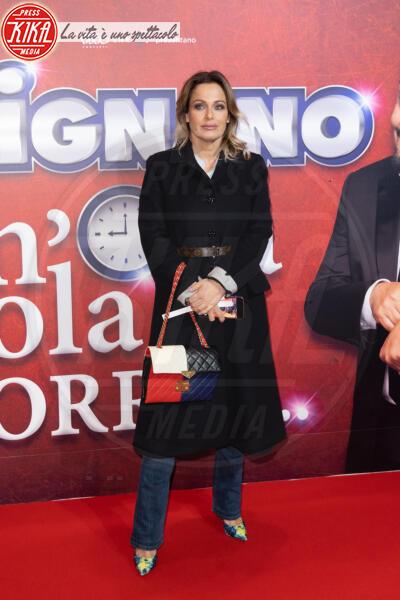 Sonia Bruganelli - Roma - 13-02-2020 - Elena Santarelli e Bernardo Corradi a teatro per Enrico Brignano