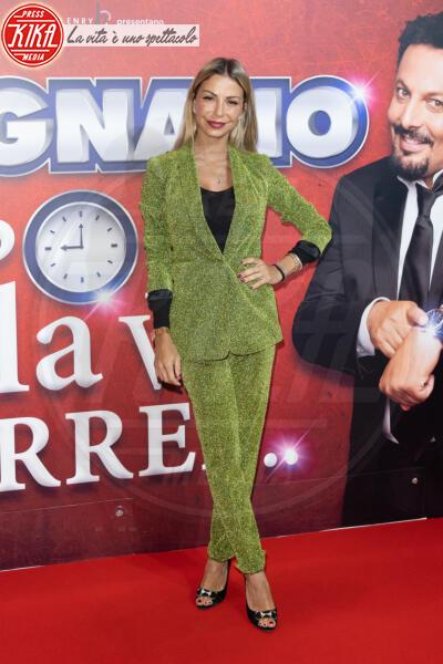 Sabrina Ghio - Roma - 13-02-2020 - Elena Santarelli e Bernardo Corradi a teatro per Enrico Brignano