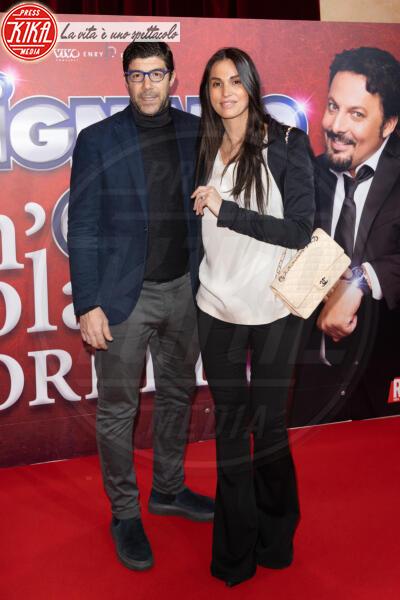Giuliano Giannichedda, Federica Ridolfi - Roma - 13-02-2020 - Elena Santarelli e Bernardo Corradi a teatro per Enrico Brignano