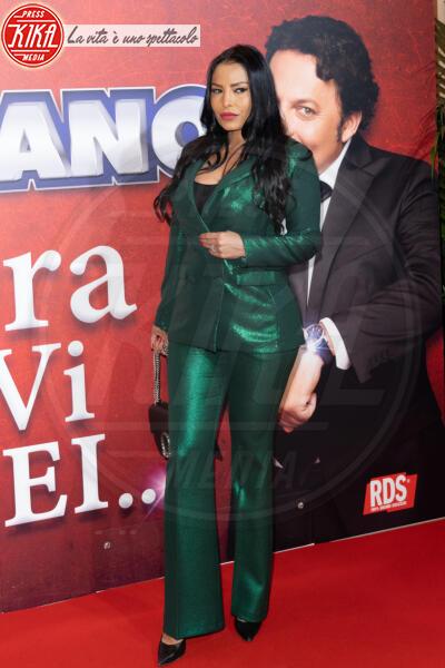 Carolina Marconi - Roma - 13-02-2020 - Elena Santarelli e Bernardo Corradi a teatro per Enrico Brignano