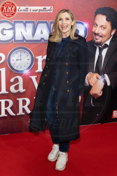 Lorella Cuccarini - Roma - 13-02-2020 - Elena Santarelli e Bernardo Corradi a teatro per Enrico Brignano