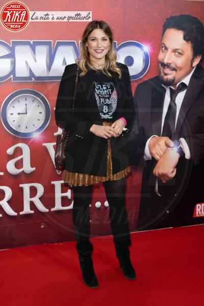 Benedetta Mazza - Roma - 13-02-2020 - Elena Santarelli e Bernardo Corradi a teatro per Enrico Brignano