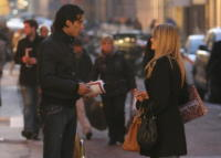 Bernardo Corradi, Elena Santarelli - Milano - 04-12-2007 - Elena Santarelli: vorrei avere tre bambini