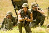 Nick Nolte, Ben Stiller, Robert Downey Jr, Jack Black - Los Angeles - 05-08-2008 - Ben Stiller attaccato per il film Tropic Thunder