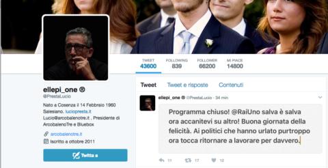 Paola Perego, Parliamone Sabato, Lucio Presa
